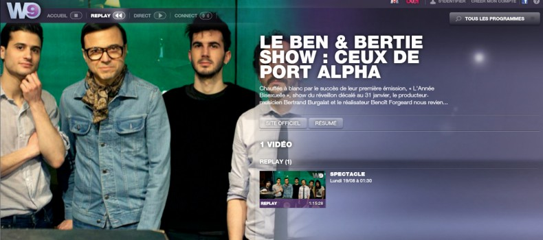 Le replay du Ben & Bertie Show: Ceux de Port Alpha